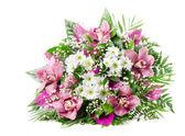 Güzel taze çiçek buketi — Stok fotoğraf