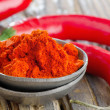 Red pepper spice - Stock Photo