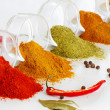 Colorful spices — Stock Photo #19986137
