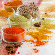 Colorful spices — Stock Photo #19986159