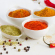 Colorful spices — Stock Photo #19986195