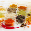 Stock Photo: Colorful spices