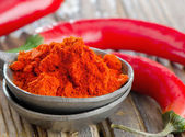 Red pepper spice — Stock Photo