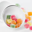 Colorful jelly candies - Stock Photo