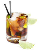 Coctail Cuba Libre — Stock Photo