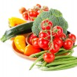 Healthy food - fresh vegetables — Stock Photo