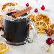Stock Photo: Mulled wine