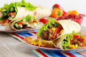 Tortilla wraps — Stock Photo