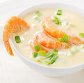 Creamy soup — Stock Photo
