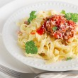 Italian food - Pasta — Stock Photo