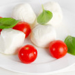 Healthy food - italian salad — Stock Photo