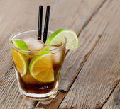 Cocktail Cuba Libre — Stock Photo
