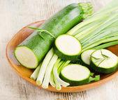 Fresh zucchini — Stock Photo
