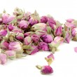 Tea of dried roses — Stock Photo