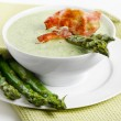 Stock Photo: Creamy soup