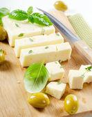 Feta cheese. — Stock Photo