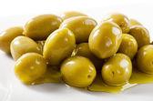 Zielone oliwki — Zdjęcie stockowe