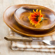 Plate setting — Stock Photo