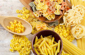 Assortment of pasta — Stock Photo