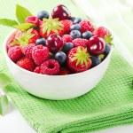 Mix of fresh berries — Stock Photo