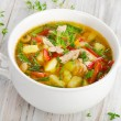 Chicken soup with vegetables — Stock Photo #29773881