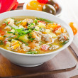 Bowl of vegetable Soup — Stock Photo #29775817