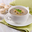 Stock Photo: Mushroom soup