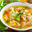 Bowl of vegetable Soup — Stock Photo #31082817