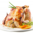 Roasted chicken — Stock Photo #31237445
