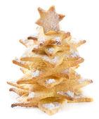 Christmas cookies tree — Stock Photo
