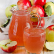 Apple juice — Stock Photo