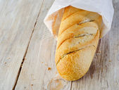 Fresh baguette — Stock Photo