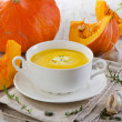Creamy pumpkin soup — Stock Photo #32745265