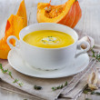 Pumpkin soup — Stock Photo #33281581