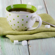 Cup of black tea — Stock Photo #34396711