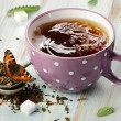 Cup of  tea.  — Stockfoto