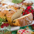 Christmas cake and cookies — Stock Photo #36197201