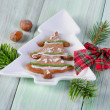 Homemade christmas cookies — Stock Photo #36197309