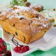 Christmas cake and cookies — Stock Photo #36197367