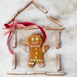 Gingerbread man — 图库照片