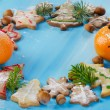 Homemade christmas cookies — Stock Photo #36197421