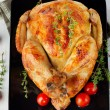 Roasted chicken — Stock Photo #36419023