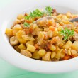 Vegetable and meat stew — Stock Photo