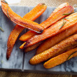 Roasted carrots — Stock Photo