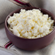 Foto Stock: Cottage cheese