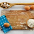 Stock Photo: Baking ingredients