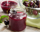 Cheery jam — Stock Photo