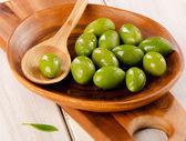 绿橄榄 — 图库照片