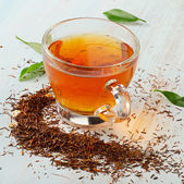 Cup of rooibos tea — Stock Photo