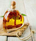 Bottle of olive oil — Stock Photo